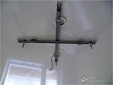 Установочная планка в виде креста
