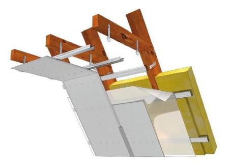 Реечная конструкция
