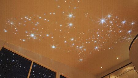 Звездное небо из светодиодов