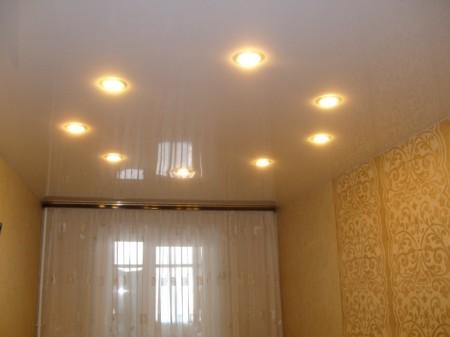 Пример, как расположить лампы
