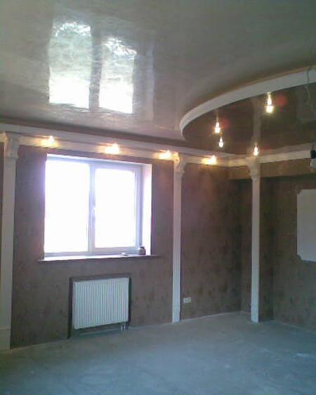 Работа по изготовлению потолочного полотна