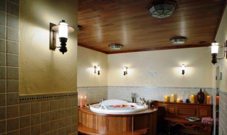 Оригинальность поверхности потолочного покрытия и простота монтажа