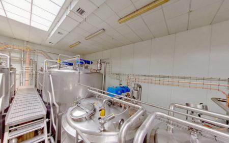 Подвесной потолок на промышленном объекте