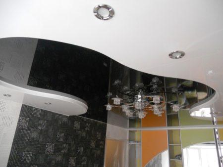 Контрастные цвета – отличное решение для комнаты