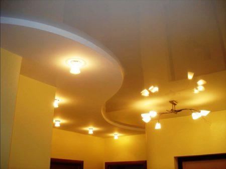Интересный дизайн потолка