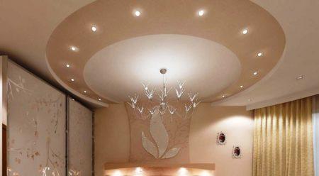 Изящество и элегантность воплощает это потолочное покрытие