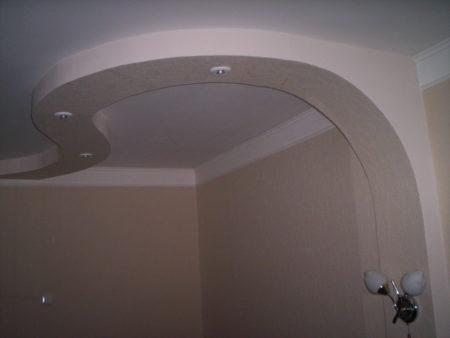 Идея для оформления стен и потолочного перекрытия