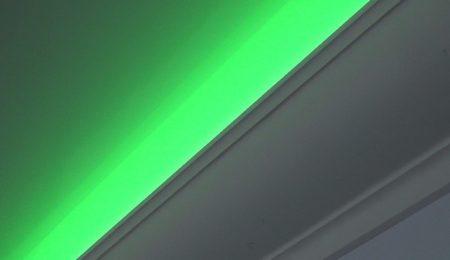 Освещение ниши светодиодной лентой