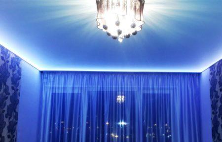 Парящий потолок – стильное решение