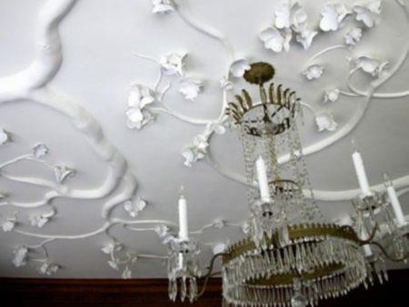 Фото декоров из гипса