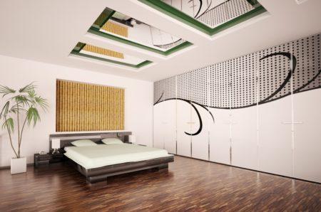 Зеркала на потолочной поверхности, как эффектный способ декорировать помещение