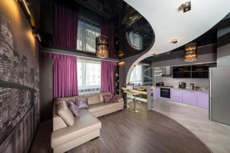 Фото дизайна однокомнатной квартиры