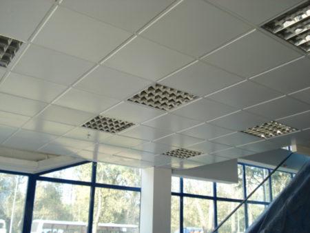 Кассеты для подвесной конструкции