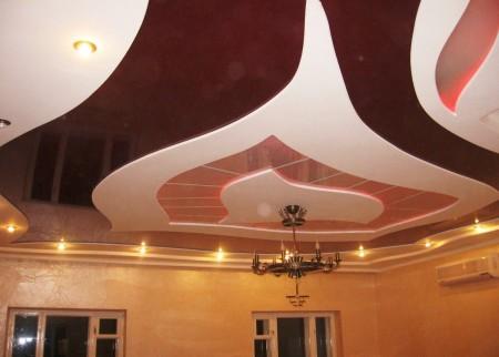 Красивая система потолочного покрытия – стильно и современно