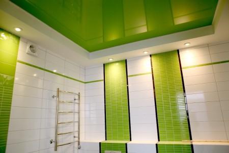 Виниловая система в ванной
