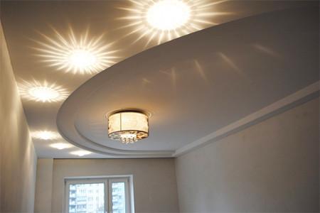 Центральное и дополнительное освещение