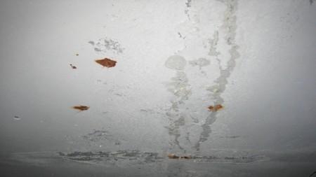 Следы ржавчины на гипсокартонном потолке