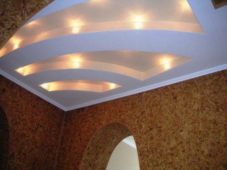 Встроенные точечные светильники – функциональность и привлекательность