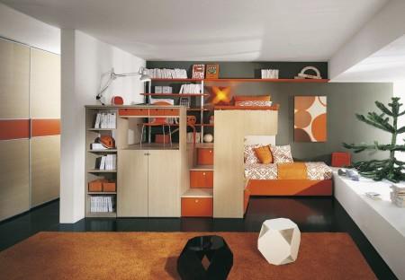 Фото одного из вариантов спальни