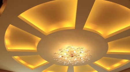 Фото комбинирование освещение в зале