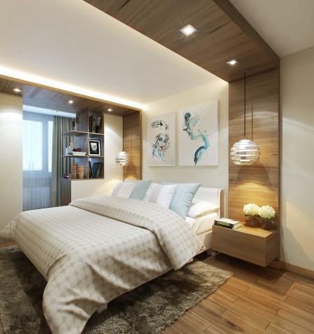 Один из вариантов спальни