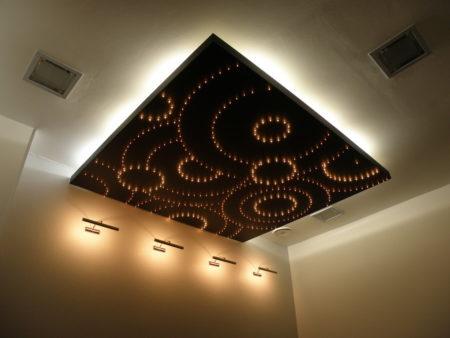 Как в комнате заставить потолок парить? Фото