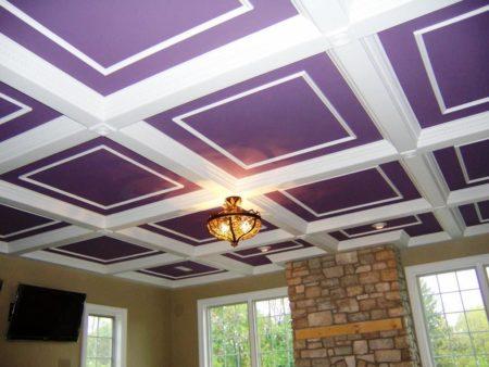 Натяжные лакунарные потолки – оригинальное решение для помещения
