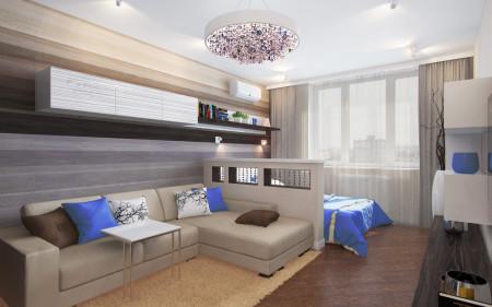 Привлекательное оформление кровати в спальне