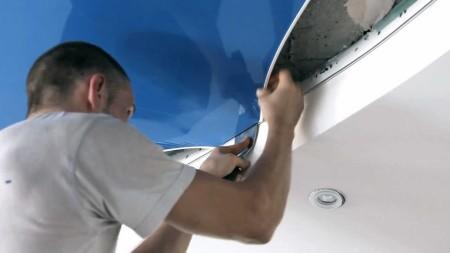 Демонтаж полотна и выполнение полноценного ремонта бетонного перекрытия – защита от мышей