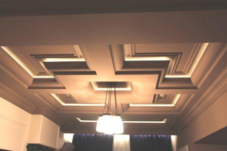 Лакунарные потолки – эстетическая привлекательность