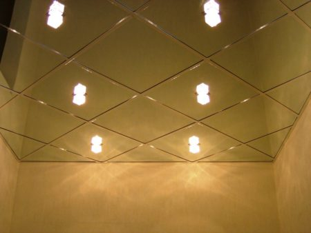 Зеркальные плиты – отличная система