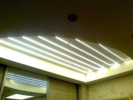 Использование светодиодов, фото