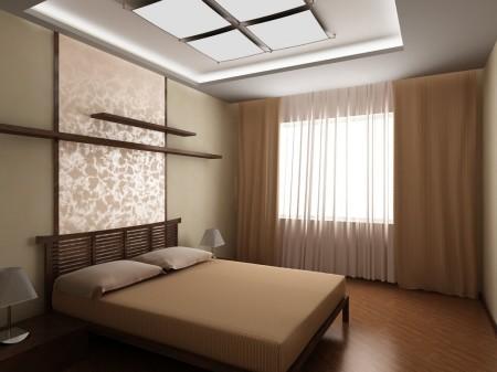 Эстетичный дизайн спальни на 12 кв м