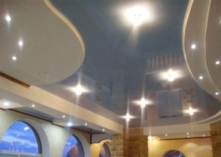 Как сделать двойной натяжной потолок своими руками? Фото