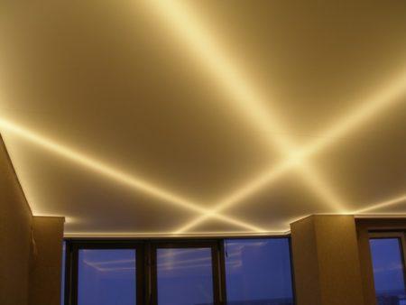 Скрытая светодиодная подсветка
