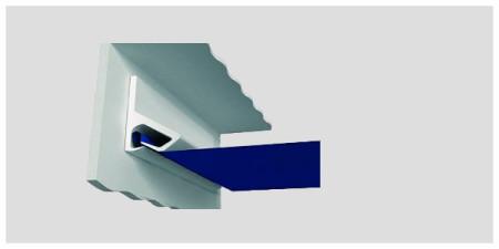Установка потолка по технологии Clipso