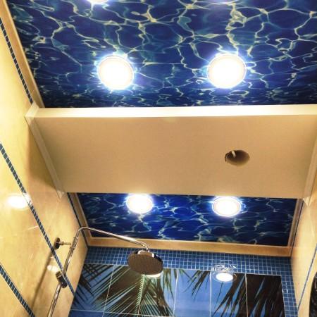 Красивый и оригинальный потолок привнесет изюминку