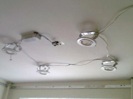 Монтаж закладных для светильников – принцип работы