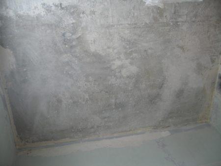 Подготовленная поверхность перед установкой каркаса