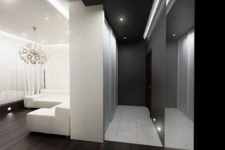 Зонирование цветом – идеальный вариант для комнаты