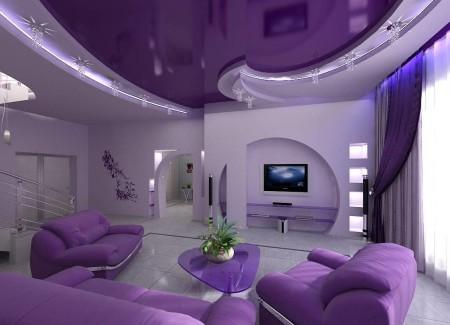 Фото зала с освещением