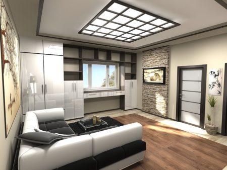 Теплый свет в помещении