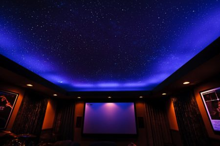 Тканевый потолок «Звездное небо»