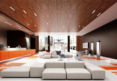 Имитация темной древесины на натяжном полотне – элегантность в сочетании с белой мебелью