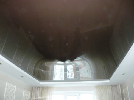 Затопленный потолок