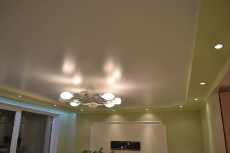 Комбинированный тип освещения с применением разных видов закладных