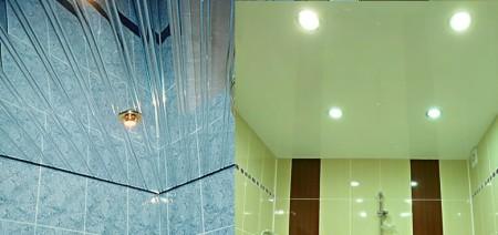 Натяжной потолок или реечная конструкция?