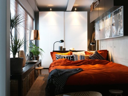 Привлекательное помещение с неординарными элементами декора