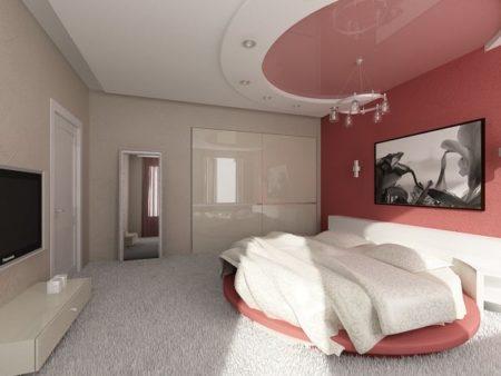 Дизайн спальни в глубоких темных оттенках
