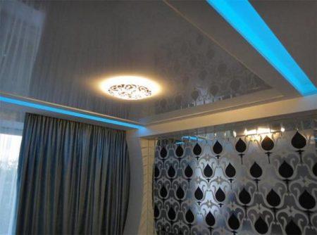 Светодиодные светильники по периметру